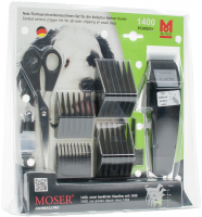 Moser 1400 Power+ машинка сетевая для стрижки животных