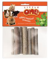 Little One лакомство ветви орешника для ухода за зубами