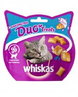 Whiskas DUO лакомство для кошек с лососем и сыром